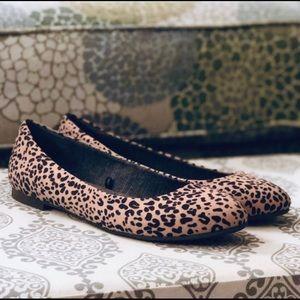 Dr Scholl's Leopard Print Flats